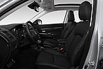 Front seat view of a 2019 Mitsubishi ASX Invite Style 5 Door SUV front seat car photos