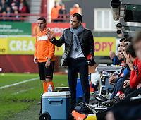 KV Kortrijk - Club Brugge : Johan Walem <br /> Foto VDB / Bart Vandenbroucke