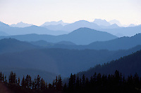 Manning Provincial Park, Southwestern BC, British Columbia, Canada - Scenic View of North Cascade Mountains