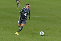 ST PAUL, MN - NOVEMBER 22: Robin Lod #17 of Minnesota United FC chases the ball during a game between Colorado Rapids and Minnesota United FC at Allianz Field on November 22, 2020 in St Paul, Minnesota.