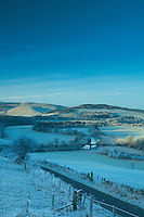 The Tweed Valley from Manor Sware near Peebles, Scottish Borders