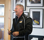 Ally McCoist the fastest driver at Knockhill today as Ladbrokes Ambassadors preview Euro 2016