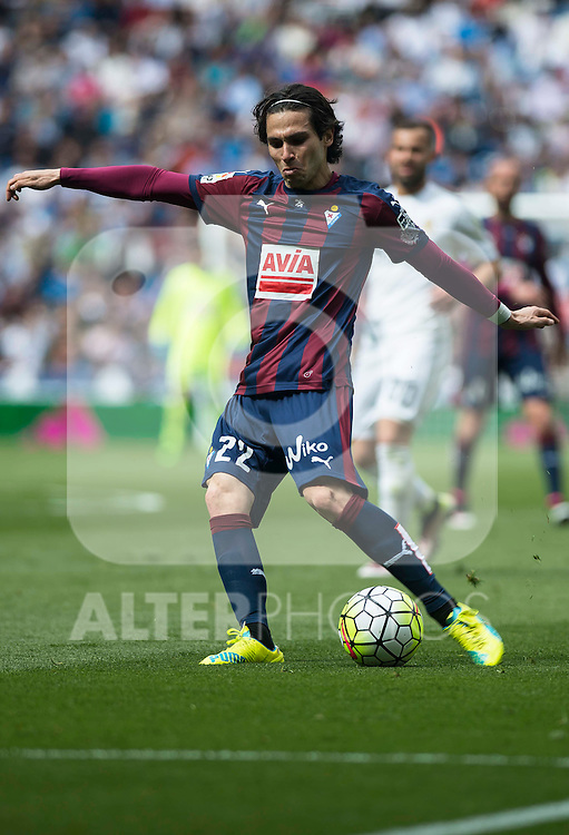 Sociedad Deportiva Eibar's Jota Peleteiro during La Liga match. April 09, 2016. (ALTERPHOTOS/Borja B.Hojas)