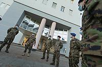 Switzerland 2020 Ticino. Army and Coronavirus