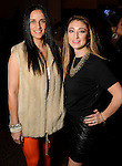 Rebecca Beazley and Piper Hatfield at day three of  Fashion Houston 5 at the Wortham Theater Thursday Nov. 20, 2014.(Dave Rossman photo)