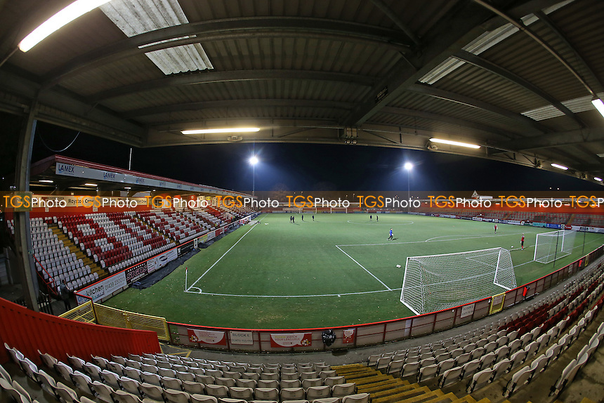 General view of the ground during Tottenham Hotspur Youth vs Stevenage Youth, FA Youth Cup Football at the Lamex Stadium on 30th November 2016