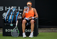 Netherlands, Den Bosch, 16.06.2014. Tennis, Topshelf Open, Garbine Muguruza (ESP)<br /> Photo:Tennisimages/Henk Koster
