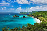 Trunk Beach. St. John Island. US Virgin Islands. Virgin Islands National Park.