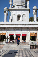 India, Dehradun.  Entrance to the Durbar Shri Guru Ram Rai Ji Maharaj, a Sikh Temple Built in 1707.