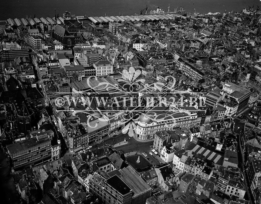 Mei 1970. Nationalestraat in Antwerpen.