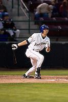 August 21, 2008:  Tri-City Dust Devils' Charlie Blackmon at-bat during a Northwest League game against the Yakima Bears at Gesa Stadium in Pasco, Washington.