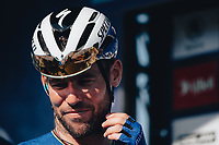 6th September 2021; Sherford to Exeter, Devon, England:  The AJ Bell Tour Of Britain, Stage 2 Sherford to Exeter. Mark Cavendish.