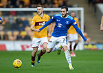 Motherwell v St Johnstone…20.10.18…   Fir Park    SPFL<br />Drey Wright and Allan Campbell<br />Picture by Graeme Hart. <br />Copyright Perthshire Picture Agency<br />Tel: 01738 623350  Mobile: 07990 594431