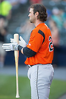 Sean Halton (24) of the Bowie Baysox  prior to the game against the Richmond Flying Squirrels at The Diamond on May 23, 2015 in Richmond, Virginia.  The Baysox defeated the Flying Squirrels 3-2.  (Brian Westerholt/Four Seam Images)