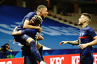 Joie - Kylian MBappe (France) - Paul Pogba (France) - Lucas Hernandez (France) celebrates after scoring a goal <br /> Uefa European friendly football match between France and Wales at Allianz Riviera stadium in Nice (France), June 2nd, 2021. Photo Norbert Scanella / Panoramic / Insidefoto <br /> ITALY ONLY