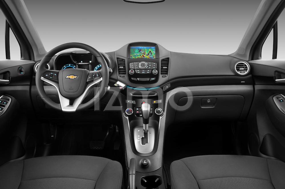 2013 Chevrolet Orlando LTZ+ MPV Straight Dashboard Stock Photo