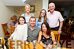 Bridget McKenna from Tralee/New York/Waterford celebrating her birthday in Bella Bia on Saturday<br /> Front l to r: Bridget, Eoin and Hannah McKenna.<br /> Back l to r: Maura, Olivia and Mike McKenna