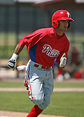 April 1, 2010:  Winder Torres of the Philadelphia Phillies organization during Spring Training at the Carpenter Complex in Clearwater, FL.  Photo By Mike Janes/Four Seam Images