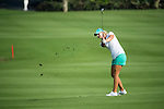 Anna Nordqvist plays during the World Celebrity Pro-Am 2016 Mission Hills China Golf Tournament on 23 October 2016, in Haikou, Hainan province, China. Photo by Weixiang Lim / Power Sport Images