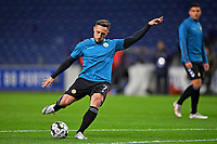 20th December 2020; Dragao Stadium, Porto, Portugal; Portuguese Championship 2020/2021, FC Porto versus Nacional; João Camacho of Nacional before the match