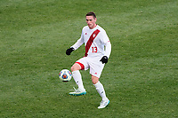 Chester, PA - Sunday December 10, 2017: Francesco Moore. Stanford University defeated Indiana University 1-0 in double overtime during the NCAA 2017 Men's College Cup championship match at Talen Energy Stadium.