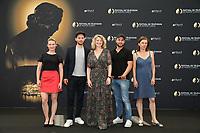 Yeelem JAPPAIN, Ali MARHYAR, Cécile BOIS, Raphaël LENGLET, Nathalie BOUTEFEU - Photocall 'Candice Renoir' - 57ème Festival de la Television de Monte-Carlo. Monte-Carlo, Monaco, 17/06/2017. # 57EME FESTIVAL DE LA TELEVISION DE MONTE-CARLO - PHOTOCALL 'CANDICE RENOIR'