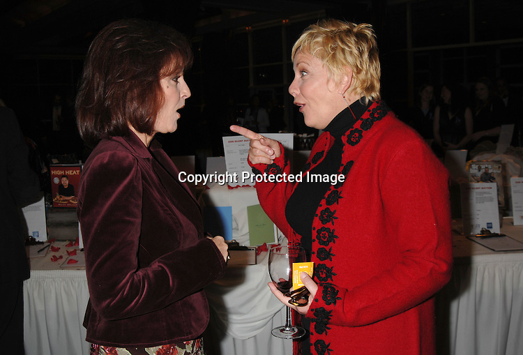 """Robin Strasser and Kim Zimmer..at The League For The Hard of Hearing's """"Feast With Famous Faces"""" Gala on October 23, 2006 at Pier Sixty. ..Kassie and James DePaiva were the co-chairs. ..Robin Platzer, Twin Images"""