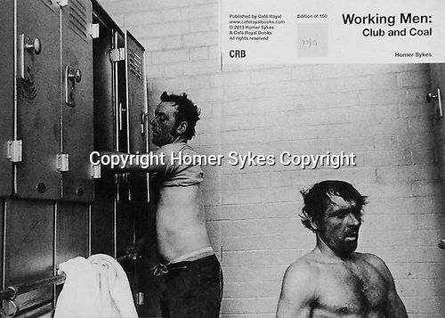 Working Men: Club and Coal.<br /> <br /> PhotoZine published by Cafe Royal Books. Edition of 150. All book shop copies sold out. I have SOLD OUT of my copies too. Published in 2013. 28 pages, staple bound,  A5.