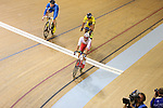 Glasgow 2014 Commonwealth Games<br /> Owain Doull (Wales) competing in the men's 40km points race final.<br /> 25.07.14<br /> ©Steve Pope-SPORTINGWALES