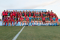 Bradenton, FL - Sunday, June 12, 2018: CONCACAF Awards, USA, Mexico, Canada during a U-17 Women's Championship Finals match between USA and Mexico at IMG Academy.  USA defeated Mexico 3-2 to win the championship.