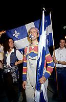 FILE PHOTO - <br /> La defaite du camp du OUI lors du referendum, le 30 Octobre 1995<br /> <br /> PHOTO : Pierre Roussel<br />  - Agence Quebec Presse