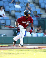 Alfredo Marte / Yakima Bears playing against the Boise Hawks - Boise, ID - 08/27/2008..Photo by:  Bill Mitchell/Four Seam Images
