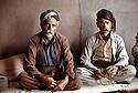 Irak 1992<br /> Deux hommes Kakaî, prés d Halabja<br /> Iraq 1992<br /> Two Kakais near Halabja