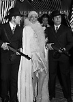 BARBARA BOUCHET<br /> FESTA A TEMA ANNI 20- JACKIE O' ROMA 1974