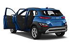 Car images of 2021 Hyundai Kona Techno 5 Door SUV Doors