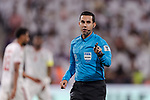FIFA Referee Cesar Ramos of Mexico gestures during the AFC Asian Cup UAE 2019 Semi Finals match between Qatar (QAT) and United Arab Emirates (UAE) at Mohammed Bin Zaied Stadium  on 29 January 2019 in Abu Dhabi, United Arab Emirates. Photo by Marcio Rodrigo Machado / Power Sport Images