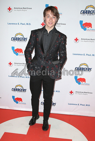 09 March 2018 - Los Angeles, California - C.J. Valleroy. American Red Cross Annual Humanitarian Celebration Honoring The LA Chargers at the Skirball Cultural Center. Photo Credit: F. Sadou/AdMedia