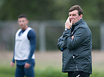 St Johnstone Training…11.08.17<br />Manager Tommy Wright pictured during training this morning ahead of tomorrows game against Motherwell<br />Picture by Graeme Hart.<br />Copyright Perthshire Picture Agency<br />Tel: 01738 623350  Mobile: 07990 594431