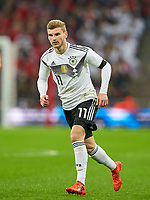 Timo Werner, GER      <br /> ENGLAND - Germany 0-0<br /> Football: International Friendly, London, Great Britain, 10.11.2017<br /> <br />  *** Local Caption *** © pixathlon<br /> Contact: +49-40-22 63 02 60 , info@pixathlon.de