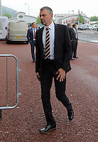 Pictured: Diego Bortoluzzi arrives Wednesday 11 May 2016<br /> Re: Awards Dinner 2016, at the Liberty Stadium, south Wales, UK.