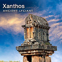 Xanthos Archaeological Site Pictures, Images, Photos. Turkey
