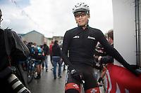 Yukiya Arashiro (JAP/Europcar) at the start<br /> <br /> Giro d'Italia 2014<br /> stage 3: Armagh (NI) - Dublin (IRL) 187km