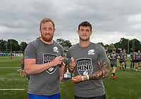 State of mind campaign before the Betfred Championship match between London Broncos and Rochdale Hornets at Castle Bar , West Ealing , England  on 17 June 2018. Photo by Andrew Aleksiejczuk / PRiME Media Images.