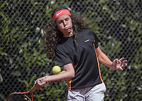 Hilversum, Netherlands, August 10, 2016, National Junior Championships, NJK, Hanna Lindeboom  (NED)<br /> Photo: Tennisimages/Henk Koster