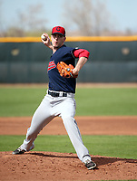 Micah Miniard - Cleveland Indians 2019 spring training (Bill Mitchell)