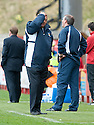 17/04/2010   Copyright  Pic : James Stewart.sct_jsp02_hamilton_v_kilmarnock  .::  KILMARNOCK MANAGER JIMMY CALDERWOOD ::  .James Stewart Photography 19 Carronlea Drive, Falkirk. FK2 8DN      Vat Reg No. 607 6932 25.Telephone      : +44 (0)1324 570291 .Mobile              : +44 (0)7721 416997.E-mail  :  jim@jspa.co.uk.If you require further information then contact Jim Stewart on any of the numbers above.........