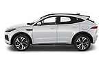 Car Driver side profile view of a 2021 Jaguar E-Pace R-Dynamic-HSE 5 Door SUV Side View