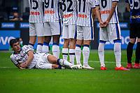 Milan, Italy - september 25 2021 - Serie A match F.C. Internazionale - Atalanta BC San Siro stadium - malinovskyi ruslan atalanta bc