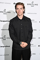 Will Poulter<br /> arriving for the Esquire Townhouse 2019 launch party, London.<br /> <br /> ©Ash Knotek  D3528 16/10/2019