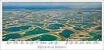 KKF03 Aerial view of Christmas Island, Kiribati